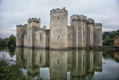 Fantasy Royalty-Free and Rights-Managed Images - Bodiam Castle by Martin Newman