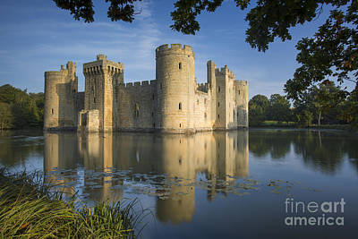Photograph - Bodiam Castle Morning by Brian Jannsen