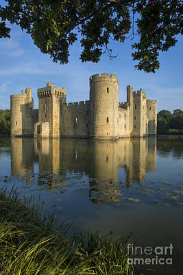 Photograph - Bodiam Castle Morning II by Brian Jannsen