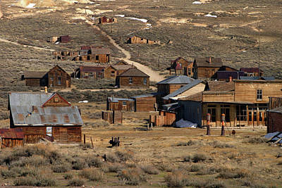 Photograph - Bodie - A Ghost Town by Inge Riis McDonald