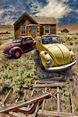 Photograph - Bodie And Volkswagen Bugs by Blake Richards