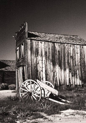 Photograph - Bodie Bunkhouse by Gary Brandes