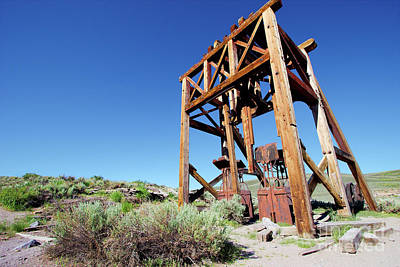 Photograph - Bodie California Ghost Town Liberating Men From Hell by Dan Carmichael