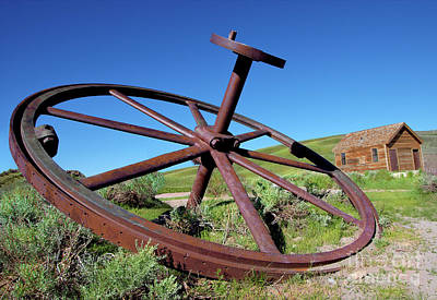 Photograph - Bodie California Ghost Town - Oh, Dear A Gear by Dan Carmichael