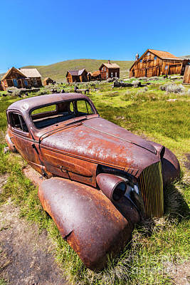 Photograph - Bodie California Ghost Town The Old Car by Dan Carmichael
