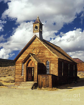 Photograph - Bodie Church I by Jim And Emily Bush