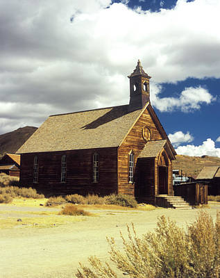Photograph - Bodie Church II by Jim And Emily Bush