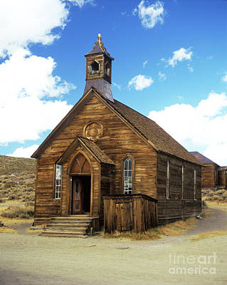 Photograph - Bodie Church IIi by Jim And Emily Bush