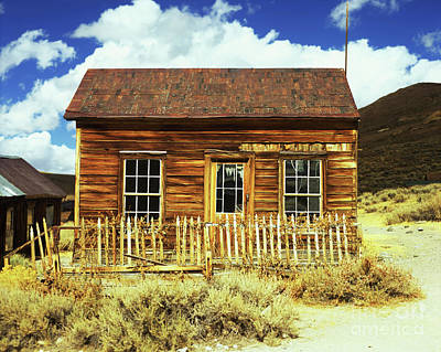 Photograph - Bodie Cottage by Jim And Emily Bush