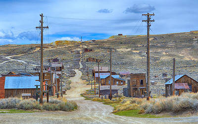 Photograph - Bodie Ghost Town by AJ Schibig