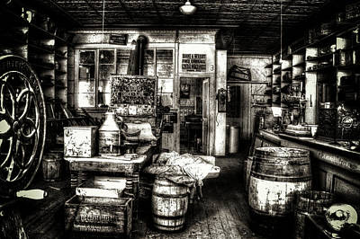 Photograph - Bodie Ghost Town General Store by Roger Passman