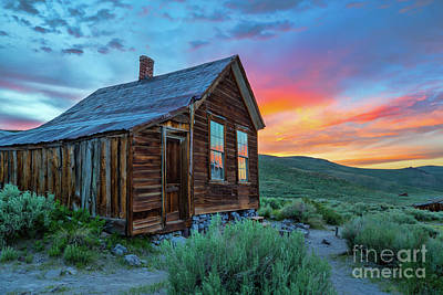 Photograph - Bodie Ghost Town Sunset by Mimi Ditchie