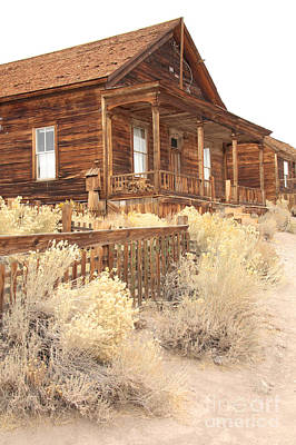 Photograph - Bodie Home by Frank Townsley