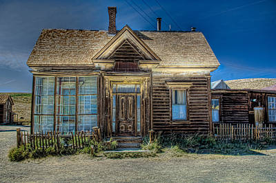 Bodie House Art Print by Greg Nyquist
