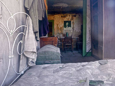 Photograph - Bodie House Of Ill Repute by Amelia Racca