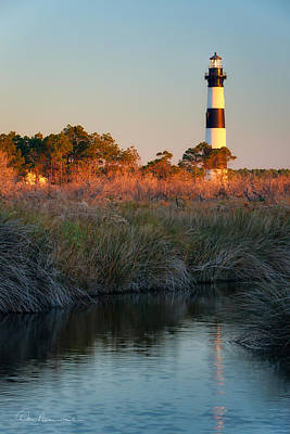 Dan Beauvais Royalty-Free and Rights-Managed Images - Bodie Island Light 2589 by Dan Beauvais