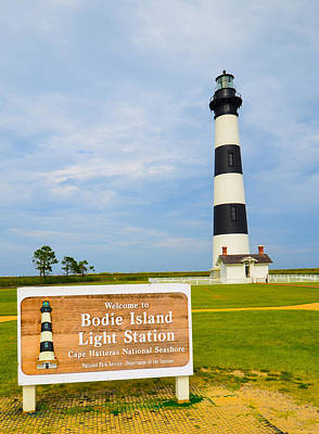 Photograph - Bodie Island Light Station by Jeff at JSJ Photography