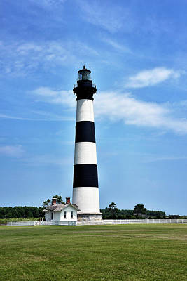 Photograph - Bodie Island Lighthouse - Cape Hatteras National Seashore by Brendan Reals