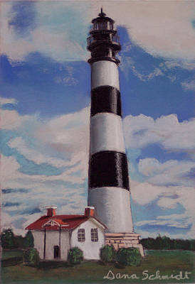 Painting - Bodie Island Lighthouse by Dana Schmidt