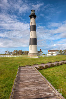 Photograph - Bodie Island Lighthouse IIi by Clarence Holmes
