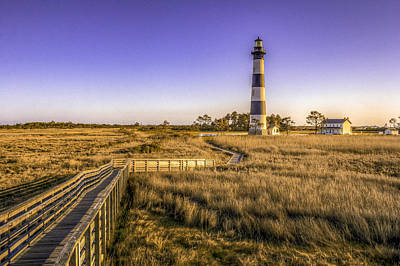Photograph - Bodie Island Lighthouse 3 by Pete Federico