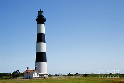 Photograph - Bodie Island Lighthouse In The Outer Banks by Jill Lang