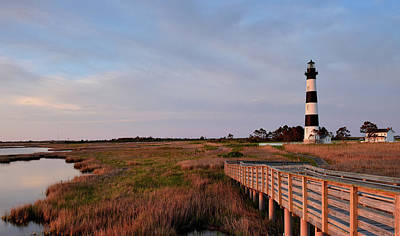 Photograph - Bodie Island Lighthouse by Jamie Pattison