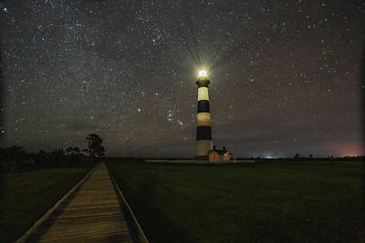 Photograph - Bodie Island Lighthouse by Jimmy McDonald