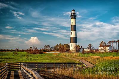 Photograph - Bodie Island Lighthouse by Nick Zelinsky