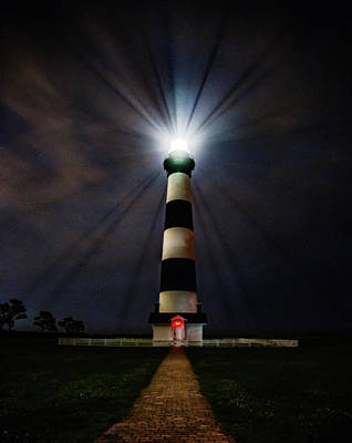 Photograph - Bodie Island Lighthouse by Pete Federico