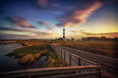Photograph - Bodie Island Lighthouse by Scott Masterton