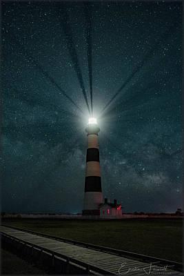 Photograph - Bodie Island Milkyway by Erika Fawcett