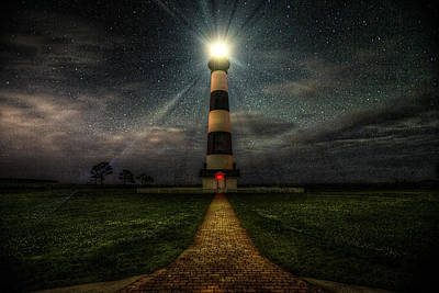 Photograph - Bodie Island Night by Pete Federico