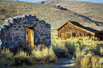 Photograph - Bodie Late Afternoon by Gary Eyring