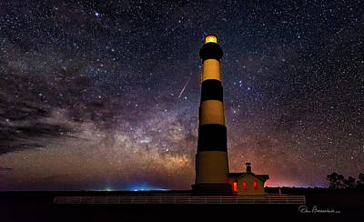 Dan Beauvais Royalty-Free and Rights-Managed Images - Bodie Light and Galactic Core 4994 by Dan Beauvais