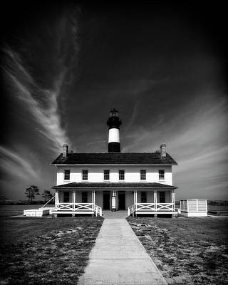 Photograph - Bodie Light And Keepers Quarters by Alan Raasch