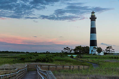 Photograph - Bodie Lighthouse At Sunset by Fran Gallogly
