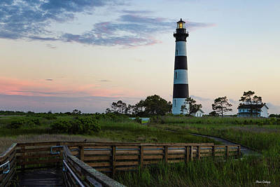 Photograph - Bodie Lighthouse At Twilight by Fran Gallogly
