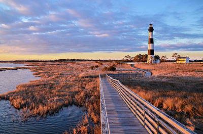 Photograph - Bodie Lighthouse by Joe Ormonde