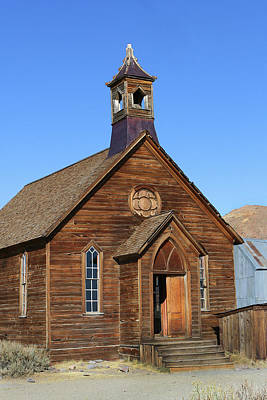 Photograph - Bodie Methodist Church by Art Block Collections