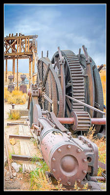 Photograph - Bodie Red Cloud Mining Equipment by LeeAnn McLaneGoetz McLaneGoetzStudioLLCcom