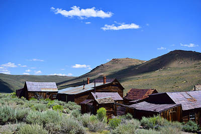 Photograph - Bodie Roof Tops by Sandra Lynn