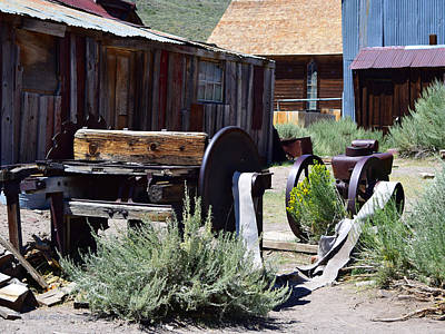 Photograph - Bodie Saw Mill by Sandra Lynn