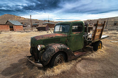 Photograph - Bodie Truck by Ralph Vazquez