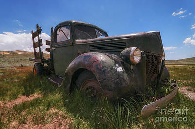 Photograph - Bodie Truck by Sharon Seaward