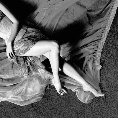 Photograph - Body #6666bw by Andrey Godyaykin