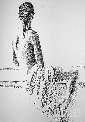 Body Language Art Print by Tanni Koens