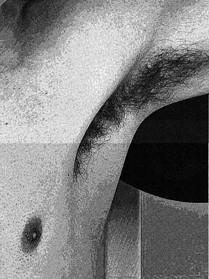 Face Painting - Body Parts Series - Sweaty Armpit, No 1 by Celestial Images