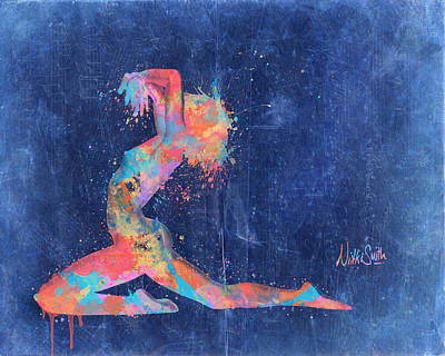 Sensual Digital Art - Bodyscape In D Minor - Music Of The Body by Nikki Marie Smith