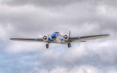 Photograph - Boeing 247d - Final Flight by Jeff Cook